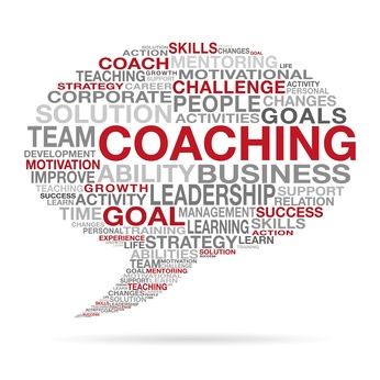 Coaching Business Succes Cloud Concept